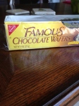 Nabisco Famous Chocolate Wafers- hard to find, but worth it!